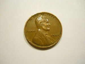 1937 P U.S. WHEAT CENT