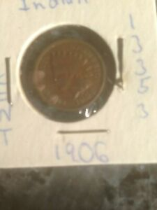 1906 US INDIAN HEAD CENT