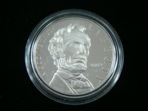 2009 P UNITED STATES MINT PROOF ABRAHAM LINCOLN SILVER DOLLAR NICE