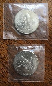 SPACE SHUTTLE DISCOVERY 1988 MARSHALL ISLANDS $5 COIN COMMEMORATIVE $EACH
