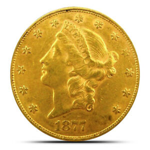 $20 LIBERTY GOLD DOUBLE EAGLE COIN   LY FINE  XF  OR BETTER   RANDOM DATE