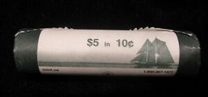 2005P CANADA TEN CENTS SPECIAL WRAP ROLL 10 CENTS