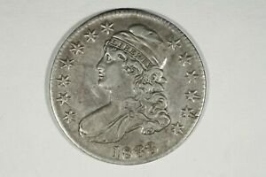 Click now to see the BUY IT NOW Price! 1833 CAPPED BUST HALF O 109 R3 XF