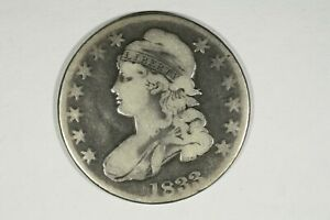 Click now to see the BUY IT NOW Price! 1833 CAPPED BUST HALF VG