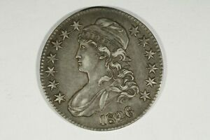 Click now to see the BUY IT NOW Price! 1826 CAPPED BUST HALF  CHOICE XF