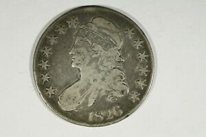Click now to see the BUY IT NOW Price! 1826 CAPPED BUST HALF  CHOICE VG