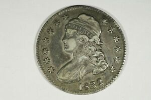 Click now to see the BUY IT NOW Price! 1832 CAPPED BUST HALF SMALL LETTERS O 103 R1 XF
