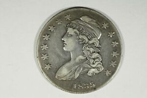 Click now to see the BUY IT NOW Price! 1835 CAPPED BUST HALF CHOICE VF
