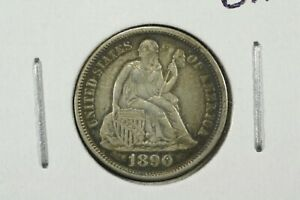 Click now to see the BUY IT NOW Price! 1890 LIBERTY SEATED DIME XF