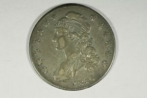 Click now to see the BUY IT NOW Price! 1836 CAPPED BUST HALF XF