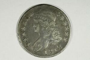 Click now to see the BUY IT NOW Price! 1812 CAPPED BUST HALF O 108 NEAR XF