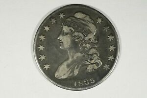 Click now to see the BUY IT NOW Price! 1835 CAPPED BUST HALF VF