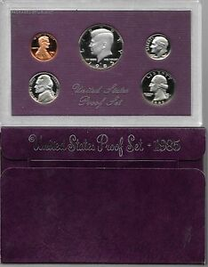1985 US PROOF SET