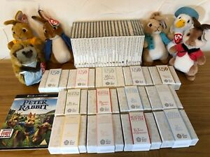 Click now to see the BUY IT NOW Price! COMPLETE BEATRIX POTTER 50P SILVER PROOF COINS TOYS BOOKS & PETER RABBIT FILM