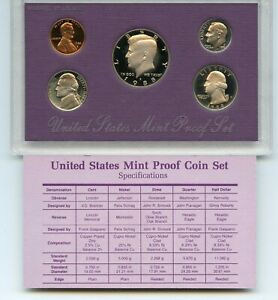 1988 S PROOF SET OF COINS