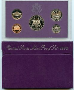 1993 S PROOF SET OF COINS
