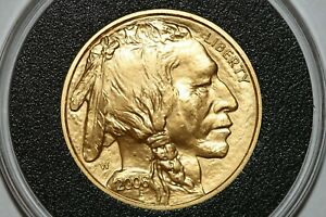 2008 W $25 AMERICAN GOLD BUFFALO 1/2 OUNCE BURNISHED KEY DATE LOW MINTAGE COIN