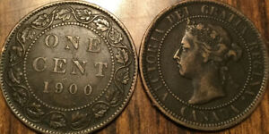 1900H CANADA LARGE 1 CENT COIN PENNY G  BUY 1 OR MORE ITS