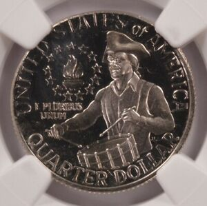 Click now to see the BUY IT NOW Price! NGC 25C 1976 S PROOF BICENTENNIAL QUARTER ON NICKEL PLANCHET PF66 CAMEO