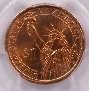 Click now to see the BUY IT NOW Price! PCGS $1 2007 JAMES MADISON DOLLAR REVERSE MISSING CLAD LAYER MS65