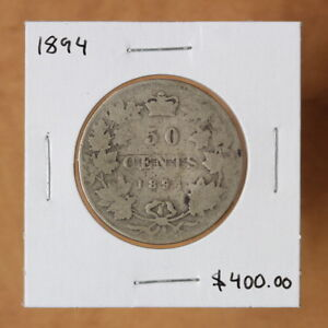 CANADA   1894   50 CENTS   2322