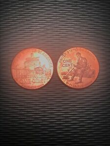 2009 LINCOLNS PENNY LOT OF 2