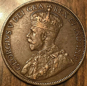 1913 NEWFOUNDLAND LARGE CENT PENNY