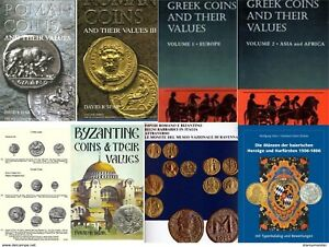 ANCIENT & MEDIEVAL COINS   80 BOOKS AND CATALOGS