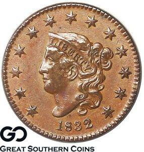 Click now to see the BUY IT NOW Price! 1832 LARGE CENT CORONET HEAD TOUGH EARLY COPPER COIN  THIS NICE
