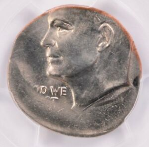 Click now to see the BUY IT NOW Price! PCGS $1 IKE DOLLAR STRUCK ON QUARTER PLANCHET MS64