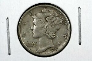 Click now to see the BUY IT NOW Price! 1919 D MERCURY DIME CH. XF