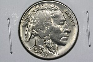 Click now to see the BUY IT NOW Price! 1937 BUFFALO NICKEL CH. AU