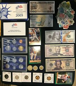 LOT COLLECTION US PROOF MINT SET & MORE