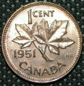 CANADA   1951   ONE CENT   WORLD COIN   COMBINE SHIPPING 801