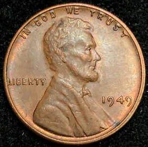 1949 LINCOLN WHEAT CENT