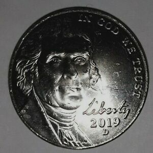 2019 D JEFFRESON NICKEL  UNCIRCULATED  QTY. DISC. AVAIL.