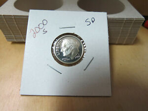 2000 S SILVER PROOF ROOSEVELT DIME