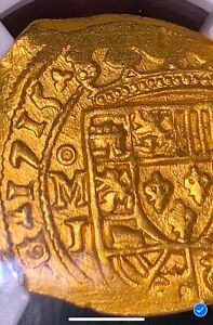 Click now to see the BUY IT NOW Price! MEXICO 1715 FLEET PLATE SHIPWRECK 4 ESCUDOS NGC 62 PIRATE GOLD COINS TREASURE