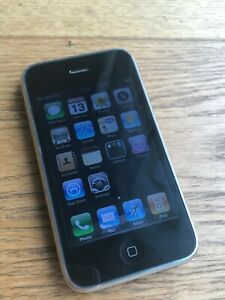 APPLE IPHONE 3G   8GB   BLACK  O2  A1241  GSM