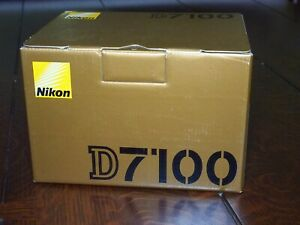 NIKON D7100 24.1MP DIGITAL SLR CAMERA BODY ONLY   1163 SHUTTER COUNT