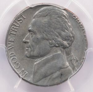 Click now to see the BUY IT NOW Price! PCGS 5C 1943 P JEFFERSON NICKEL ON STEEL CENT PLANCHET MS63