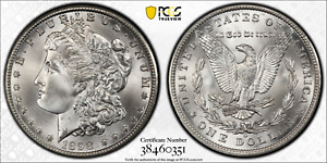 Click now to see the BUY IT NOW Price! 1898 O MORGAN SILVER DOLLAR PCGS MS67  CAC BRILLIANT WHITE GEM