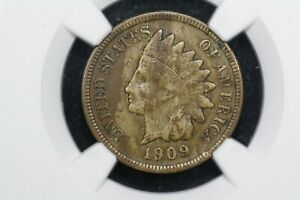 1909 S INDIAN HEAD CENT NGC XF 40