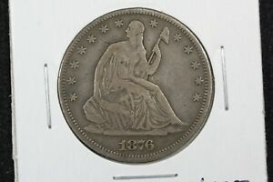 Click now to see the BUY IT NOW Price! 1876 LIBERTY SEATED HALF FINE