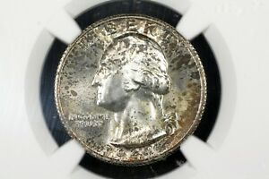 Click now to see the BUY IT NOW Price! 1941 S WASHINGTON QUARTER GEM TONED UNC NGC MS 65