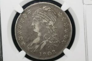 Click now to see the BUY IT NOW Price! 1808/7 O 101 CAPPED BUST HALF NGC XF 40