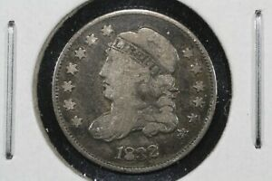Click now to see the BUY IT NOW Price! 1832 CAPPED BUST HALF DIME FINE