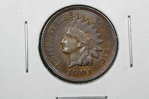 Click now to see the BUY IT NOW Price! 1901 INDIAN HEAD CENT CHOICE BU RB