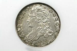 Click now to see the BUY IT NOW Price! 1835 CAPPED BUST DIME NICE LUSTROUS SLIDER NGC AU 58