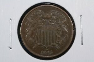Click now to see the BUY IT NOW Price! 1865 TWO CENT PIECE  2C  CHOICE FINE